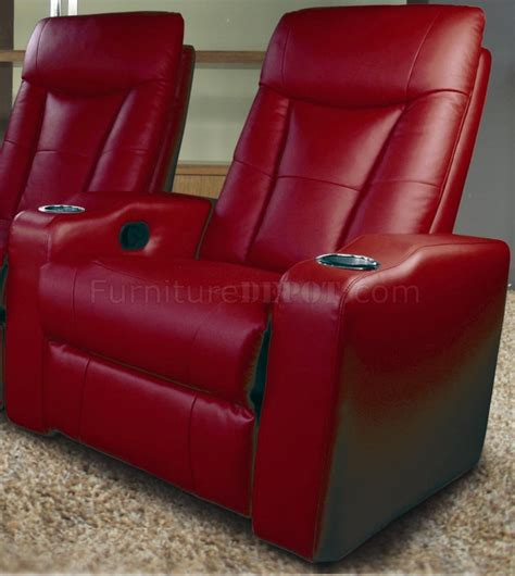 home theater sofa recliner red leatherette home theater red leatherette home theater recliners w adjustable headrests