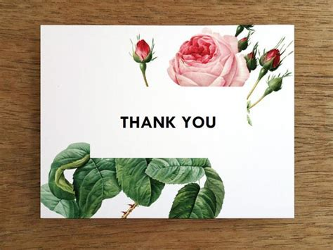 free printable thank you cards vintage printable thank you card vintage roses e m papers