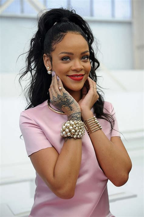 Rihanna Is My New Icon by New Season Must The Pearl Jacket Stud Burns