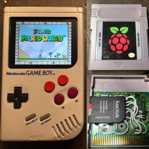 gameboy emulator mod gameboy zero mod can play all your favorite retro games