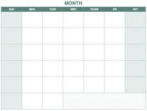 4 month calendar template free blank calendar templates smartsheet