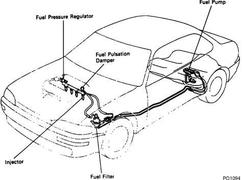 Where Is The Fuel Filter Located On A 1993 Toyota Camry