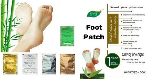 Kinoki Japanese Detox Foot Pads by Relax Health Broadcast Japanese Kinoki Cleansing Detox