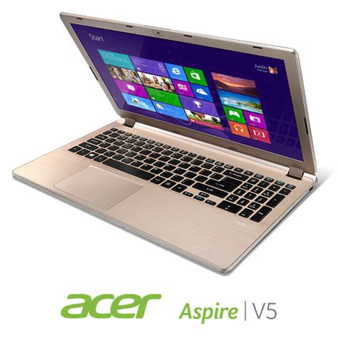 Laptop Acer Aspire V5 552pg X809 acer aspire v5 552pg x809 15 6 inch touchscreen laptop chagne computers
