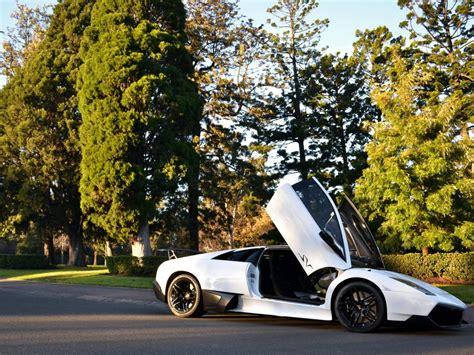 Lamborghini Miura Doors Open White Lamborghini Aventador With Open Doors Hd Desktop