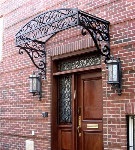 Iron Awning by 168 Best Images About Wrought Iron Canopy For Doors And
