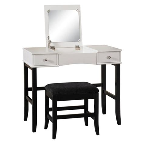 Home Decor Vanity by Vanity Black White Linon Home Decor Target