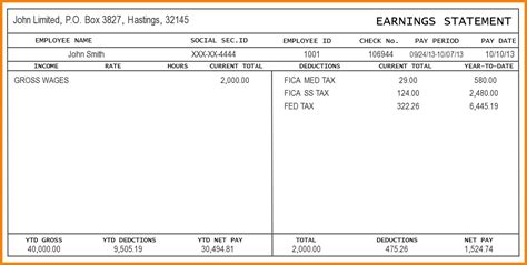 blank check stub template free free check stub template printables template idea