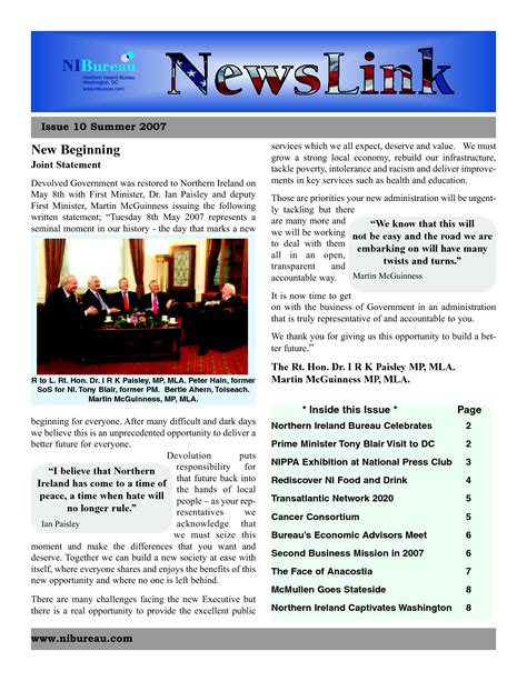 free newsletter template microsoft word newsletter template