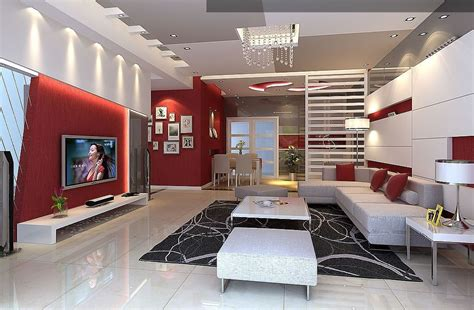 decoration maison salon moderne salon et blanc design et moderne living room
