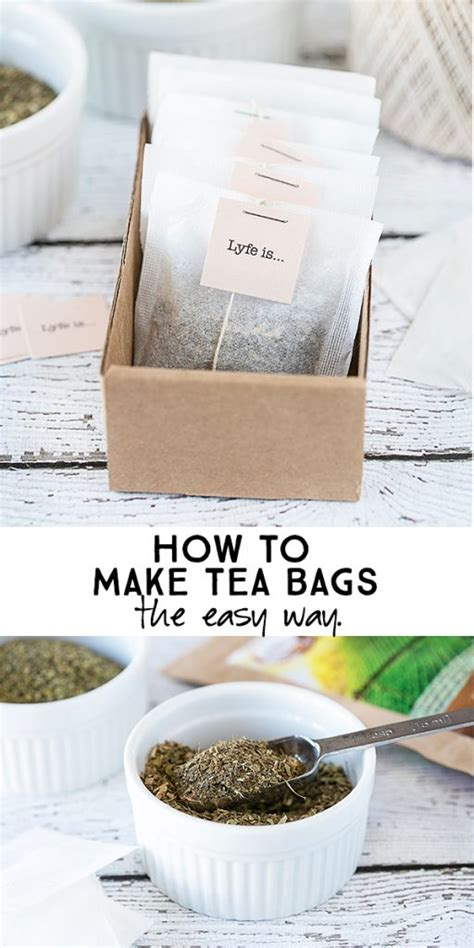how to use tea bags how to make tea bags the easy way live laugh rowe