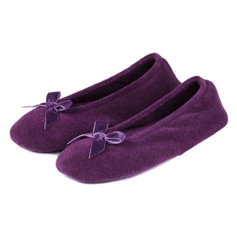 ballerina slippers for isotoner terry ballerina slippers ebay