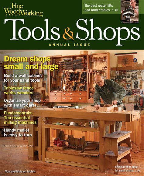 woodworkers book club 237 tools shops 2014 finewoodworking
