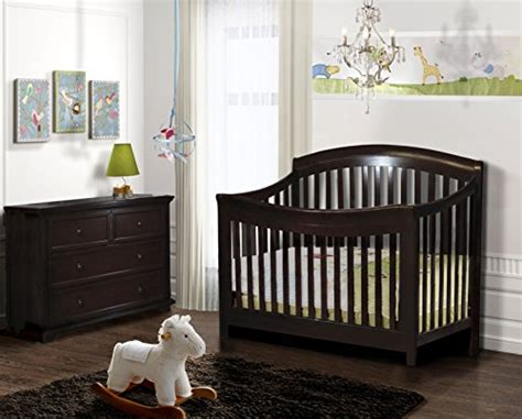 Crib That Hooks To Bed Shermag Conrad Conversion Rails 54 Quot Espresso Furniture Baby Toddler Furniture Crib Toddler Bed