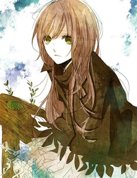 Anime With Light Brown Hair by Anime Now This Looks Like Me Drawing