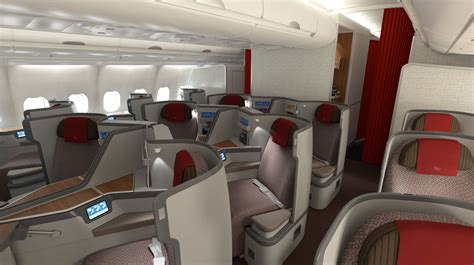 Modern Cabin Design by Garuda S New Airbus A330 Business Class Seats Australian