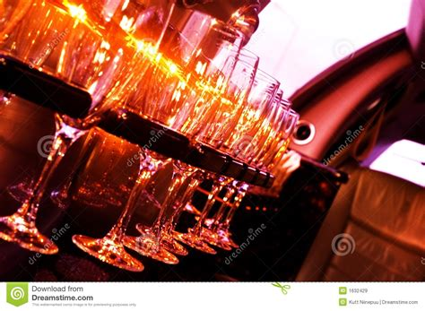 Interior Leather Bar Free by Limousine Interior Royalty Free Stock Images Image 1632429