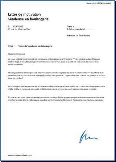 Lettre De Motivation Pour Poste Vendeuse Boulangerie Exemple Lettre De Motivation Vendeuse Lettre Motivation Btp Jaoloron