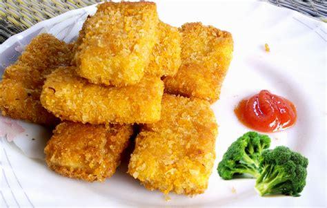 Cara Membuat Nugget Ayam Sayur Keju | resep cara membuat nugget ayam keju sehat mudah resep