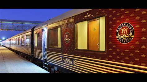 maharajas express train exterior maharaja express a luxurious interior view youtube