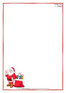 Blank Letter From Santa Template by Letter To Santa Claus Paper Blank Template Santa Presents 7
