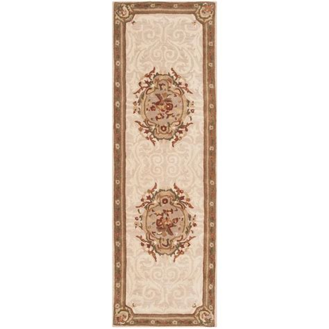 Empire Of Ivory safavieh empire ivory light gray 2 ft 6 in x 10 ft