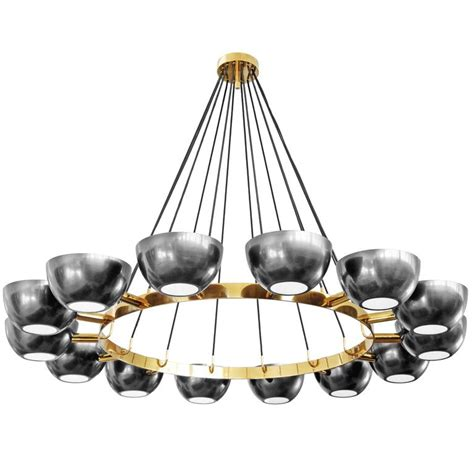 Custom Chandelier In The Style Of Stilnovo For Sale At 1stdibs Table L Chandelier Style
