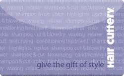 Hair Cuttery Gift Card - sell hair cuttery gift cards raise