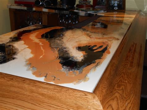 cool ideas for bar tops cool ideas how to make epoxy countertops by ourselves