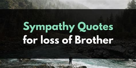comforting words for death of a brother sympathy messages for the loss of a brother that will