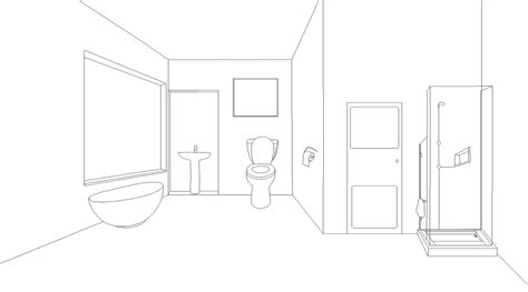 bathroom drawings old drawing bathroom lineart by akididmorning on