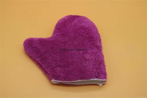 Micro Fiber Glove microfiber cleaning glove china manufacturer sanitary