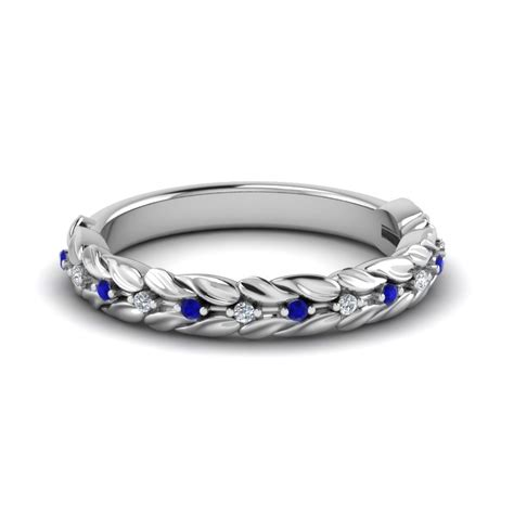 Wedding Rings Sapphire by Sapphire Wedding Bands Fascinating Diamonds
