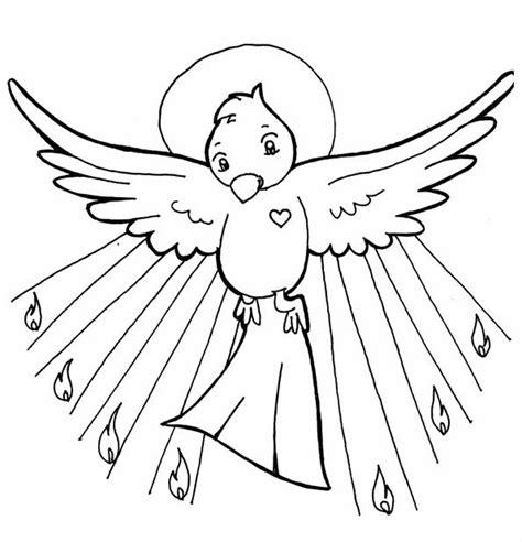 dibujos para colorear de la paloma del espiritu santo dibujo para colorear de la paloma del espiritu santo imagui