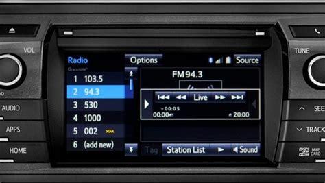 Toyota Corolla 2014 Radio How To Use Cache Radio On 2014 Toyota Corolla Autoevolution