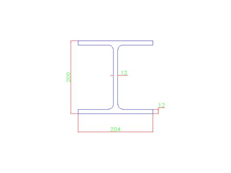 Drawing H Beam by H Beam Free Cad Block And Autocad Drawing Part 13