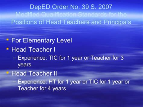 Justification Letter Deped Sle Application Letter For Promotion In Deped Letter Of Application For Teachers