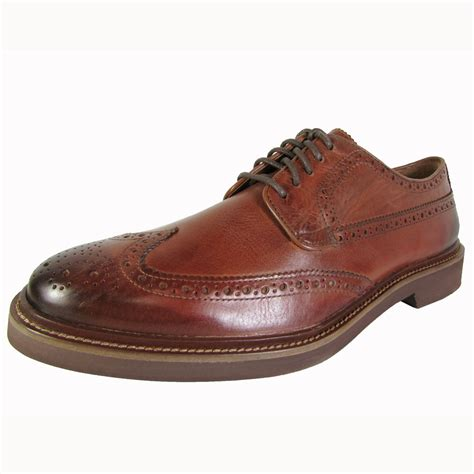 cole haan wingtip oxford shoes cole haan mens briscoe wingtip lace up oxford shoes ebay