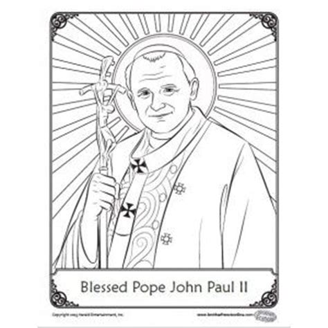 pope hat coloring page 10 best pope john paul ii images on pinterest