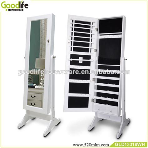 high quality jewelry armoire goodlife high quality diy wooden jewelry armoire
