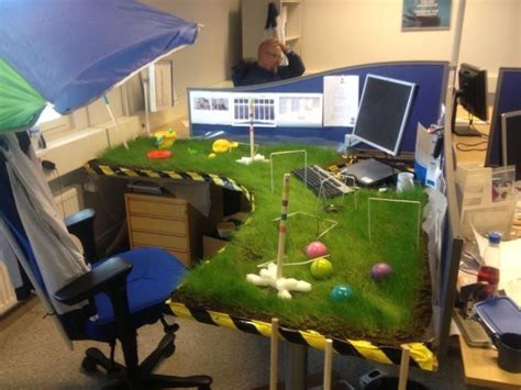 Office Prank Ideas Desk Irti Picture 4903 Tags Office Prank Grass Desk Crocket