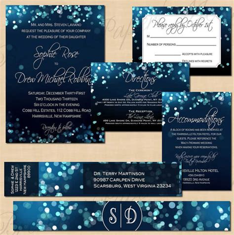 midnight blue wedding invitations midnight blue sky invitation rsvp inserts address