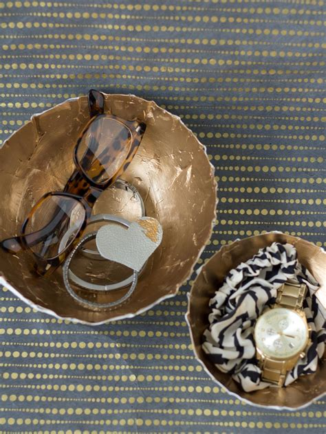 How To Make A Paper Mache Bowl - how to make paper mache bowls hgtv