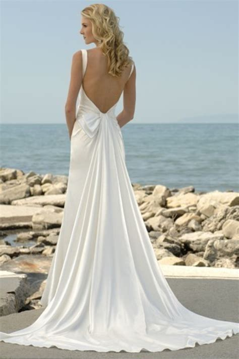 backless wedding dresses dressed  girl