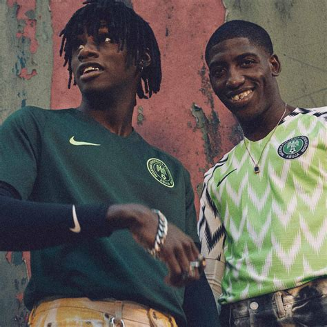 nigeria world cup nigeria 2018 world cup home kit revealed footy headlines