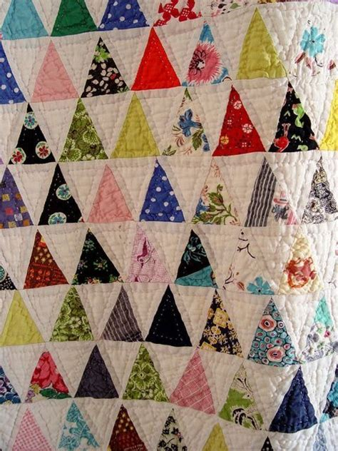 triangle quilt pattern tutorial triangle quilt tutorial patchwork i like pinterest