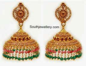 gold jhumka earrings design with price gold earrings jhumka design diamondstud