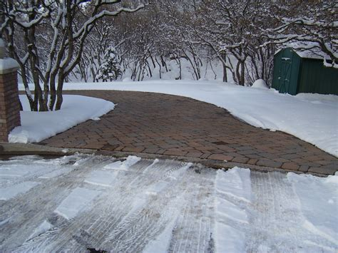 heated concrete patio warmzone promotes heated driveways to battle the miserable
