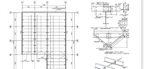 Structural Steel Shed Design by Mod 233 Lisation De La Conception Structurelle De Hangar En