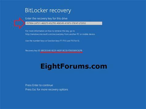 Reset Windows Password Bitlocker | bitlocker recovery unlock a drive in windows 8